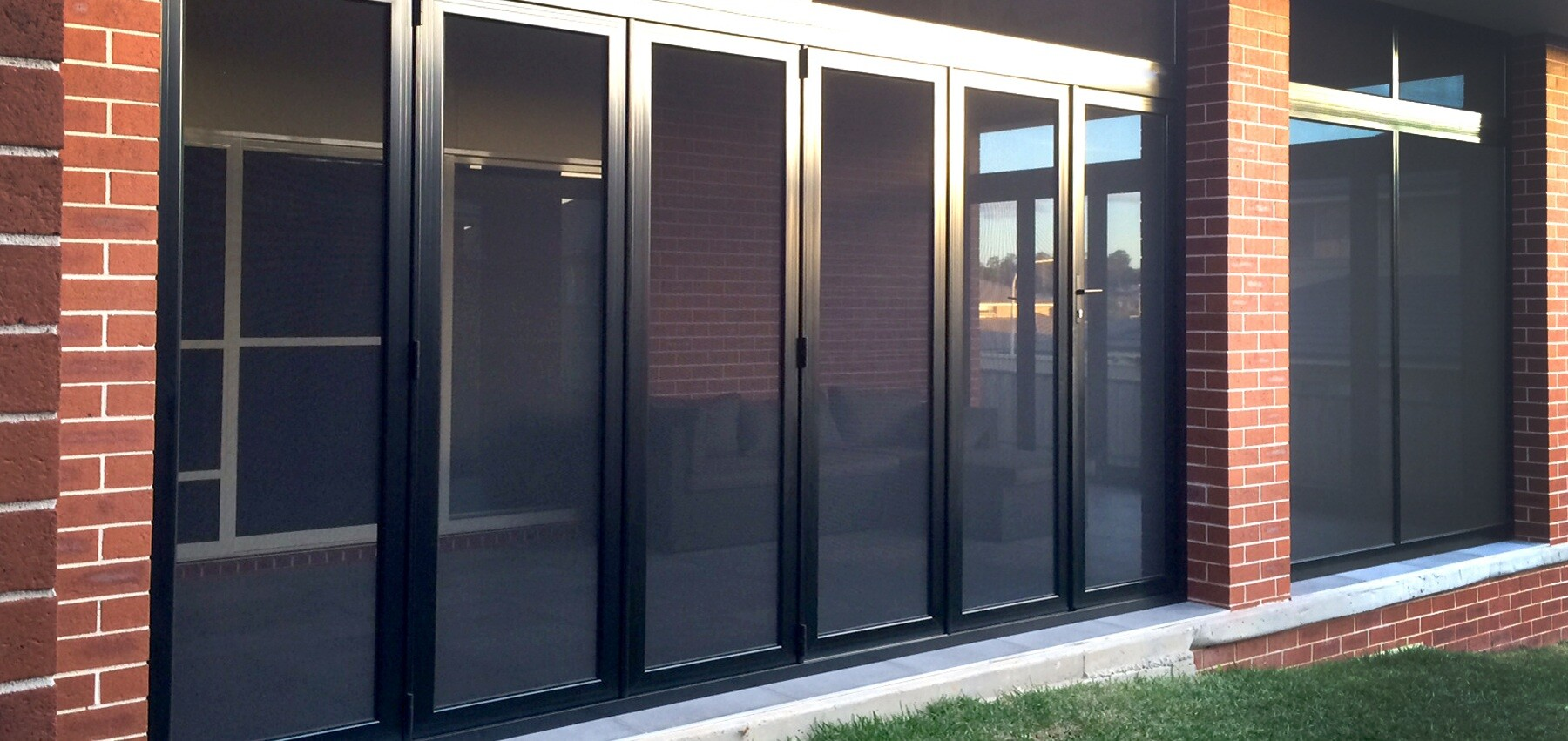 Crimsafe® Bi Fold Doors